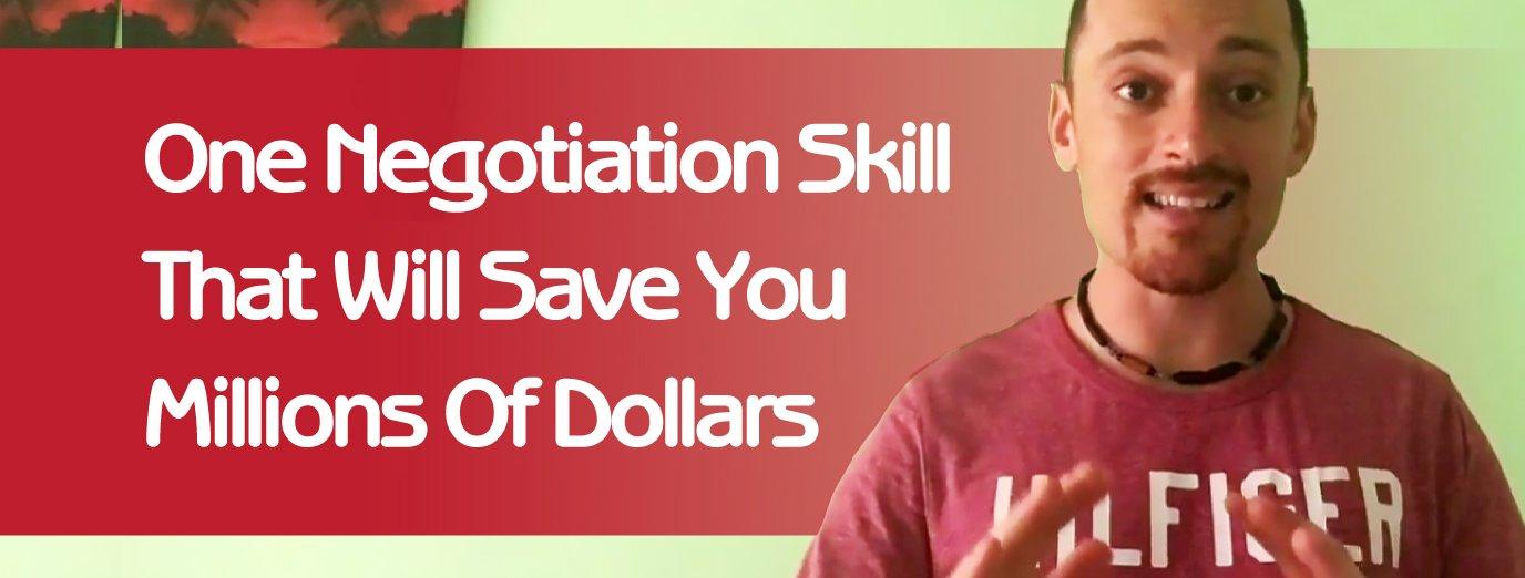Negotiation Skill