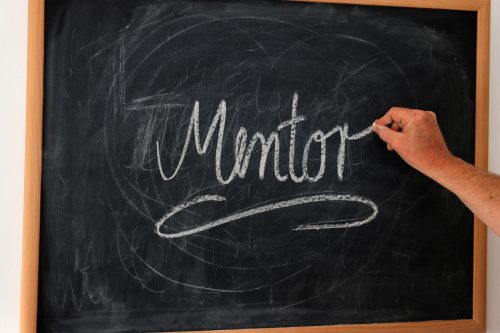 Have mentors for different areas of your life