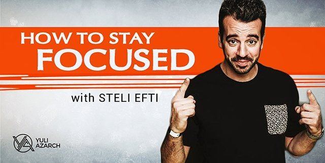 How To Stay Focused By Saying No, With Steli Efti